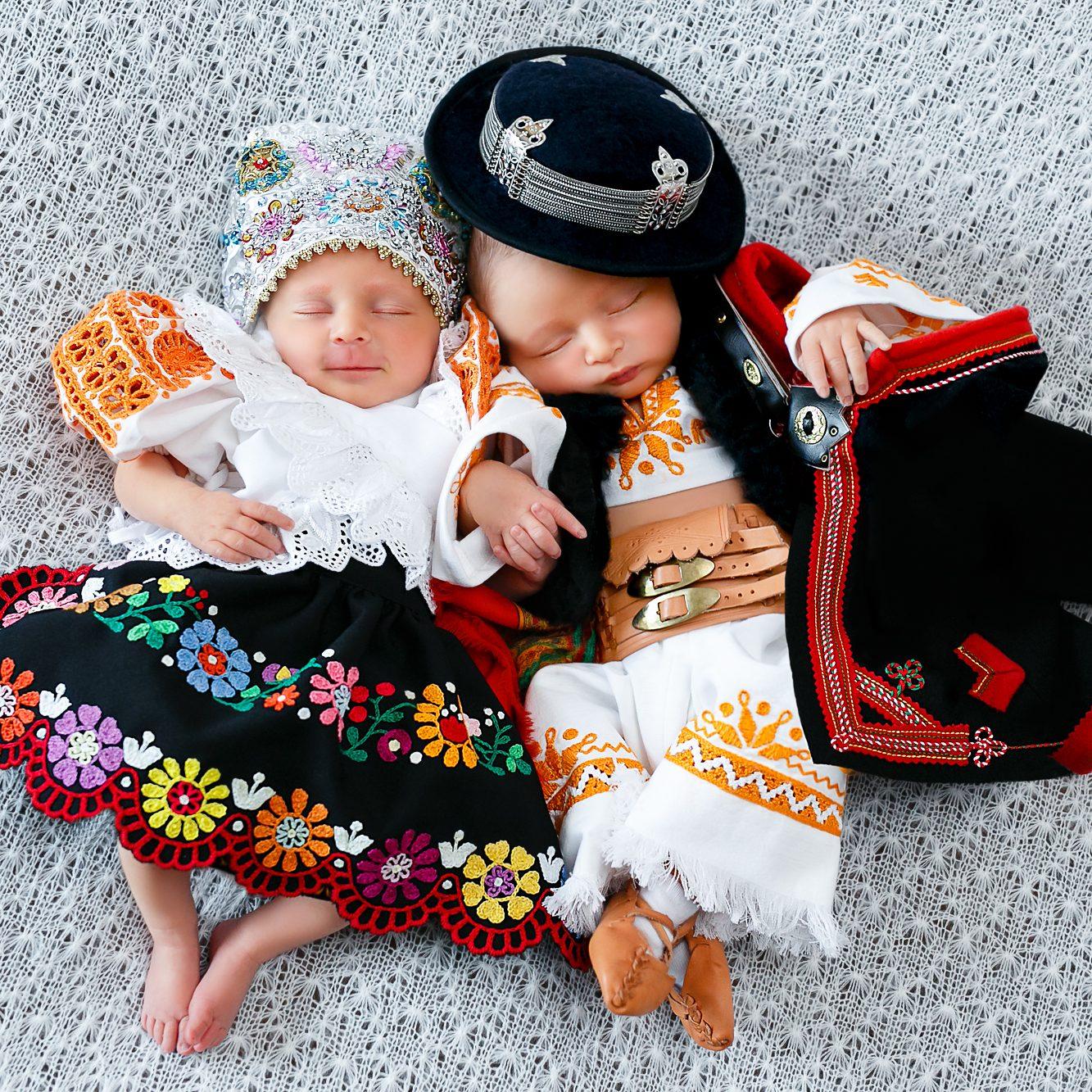 Krojované bábätká - fotogaléria